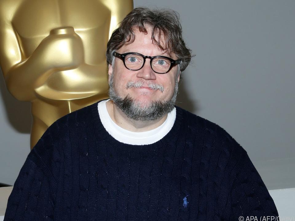 Guillermo del Toro ist mit Auszeichnungen vertraut