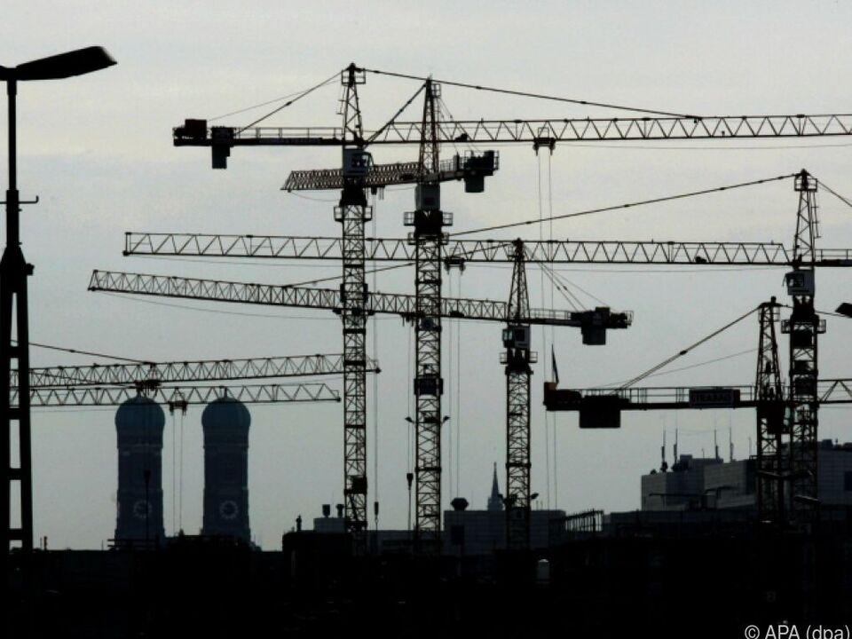 Gute Nachrichten für Europas Wirtschaft baustelle arbeit job wirtschaft sym