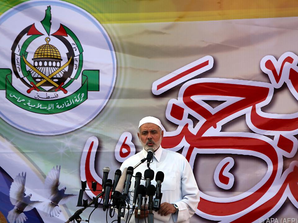 Hamas-Anführer Haniyeh reagierte auf Trumps Ankündigung