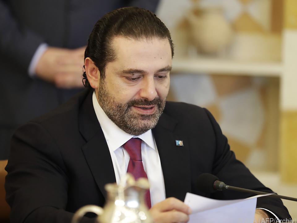 Hariri bleibt nun doch Regierungschef