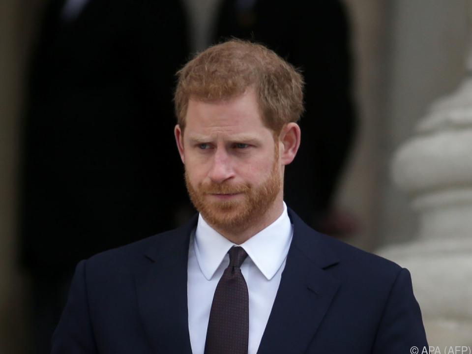 Harry engagiert sich in der Tradition seiner Mutter Diana
