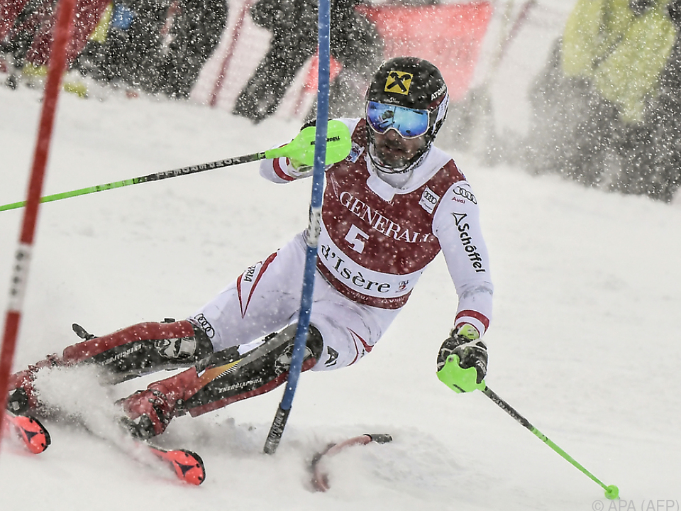 Hirscher-Aufholjagd in Val d\'Isere
