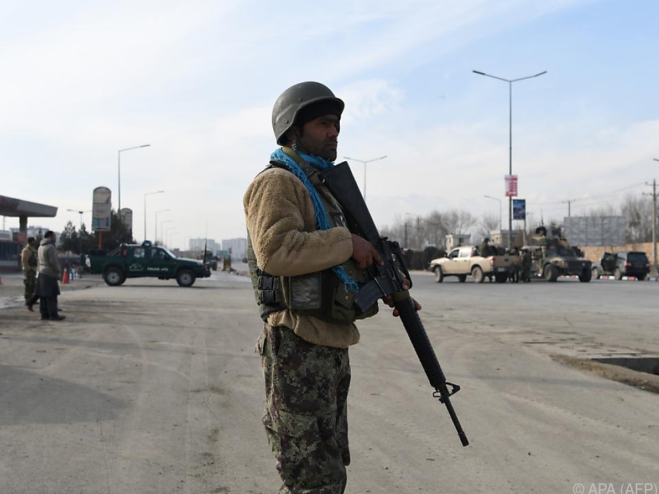In Kabul gab es heuer 20 schwere Anschläge