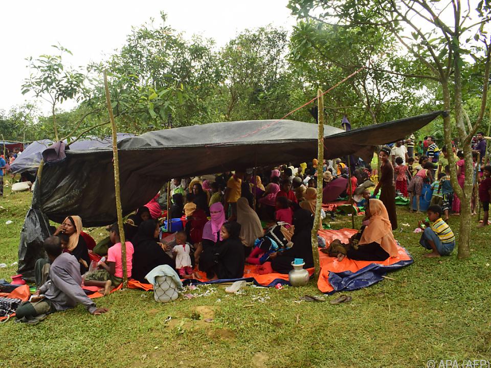 In Myanmar werden die Rohingya vertrieben