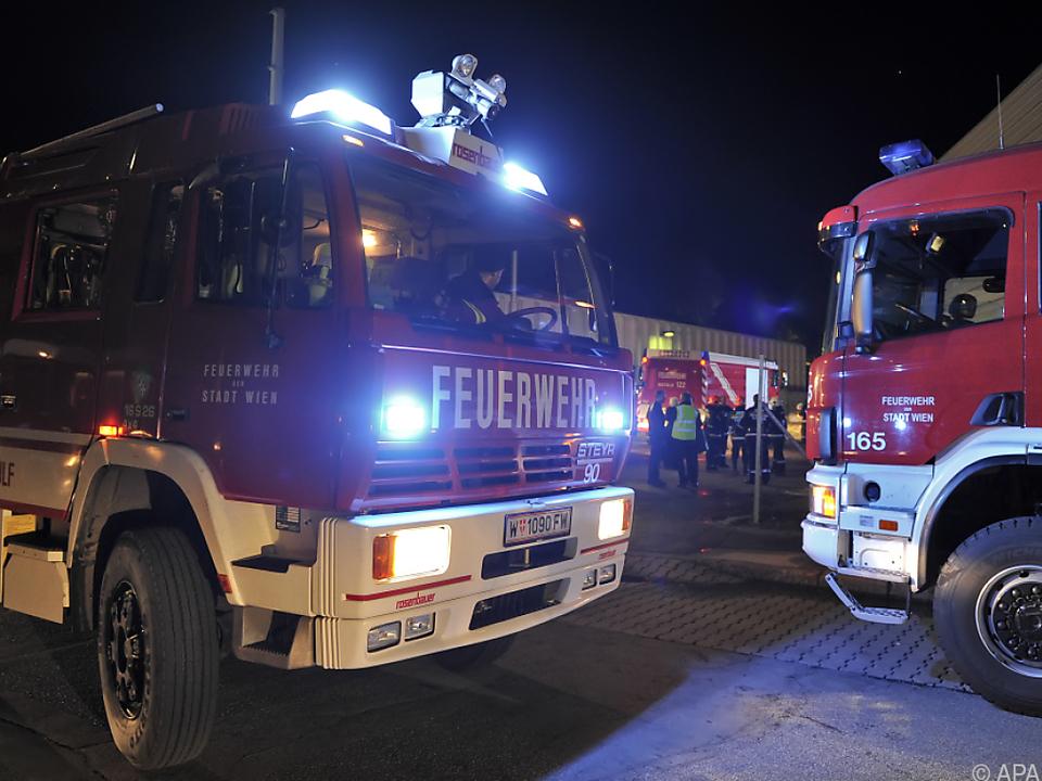 Insgesamt waren 45 Feuerwehrleute im Einsatz