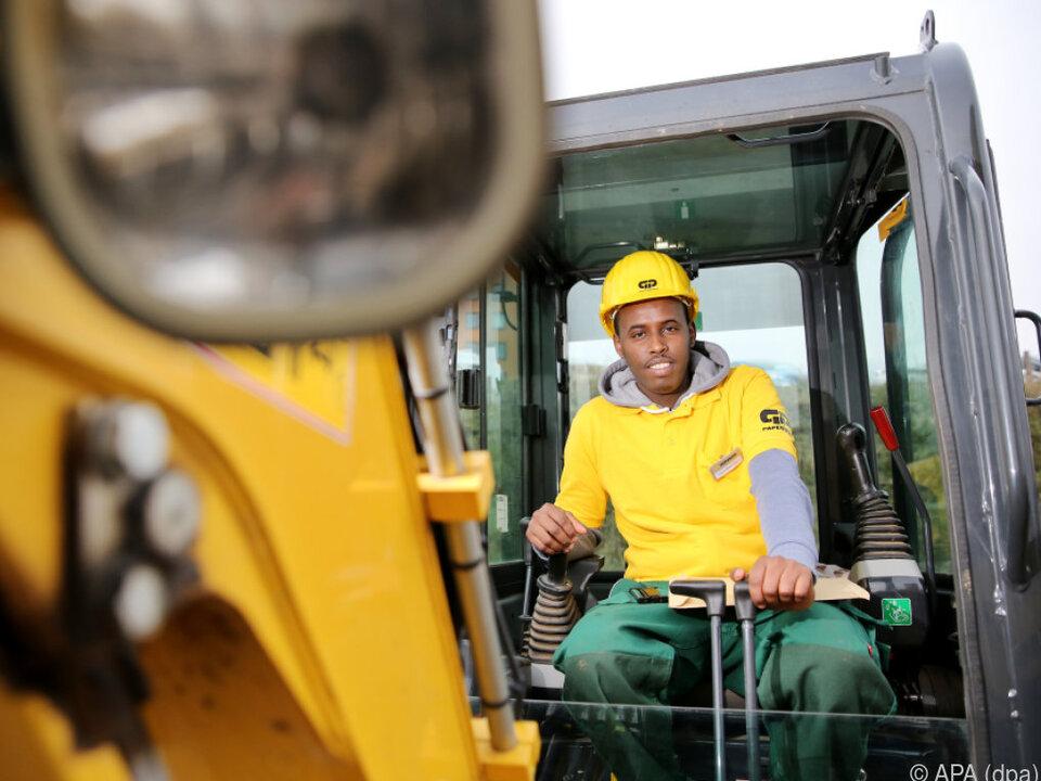 Integration in den Arbeitsmarkt geht langsamer voran als erhofft