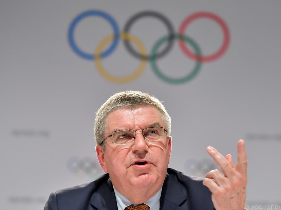 IOC-Präsident Thomas Bach vor schwerwiegender Entscheidung
