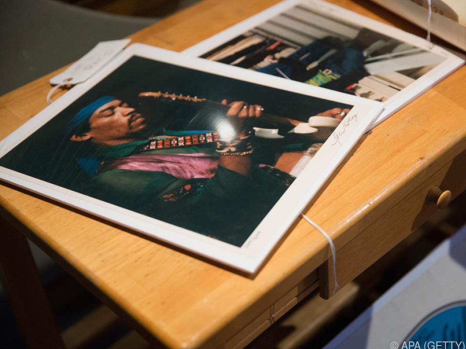 Jimi Hendrix starb 1970