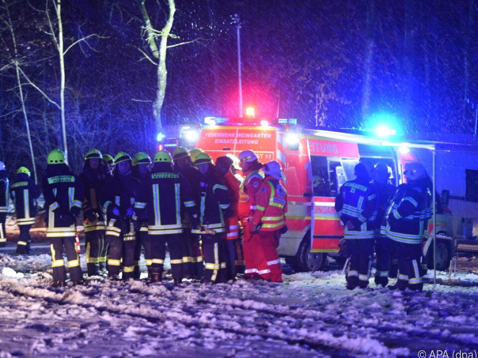 Kleinflugzeug stürzte bei Sieberatsreute ab