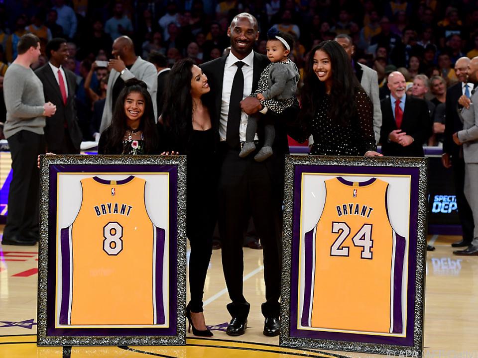 Kobe Bryants Nummern 8 und 24 werden nicht mehr vergeben
