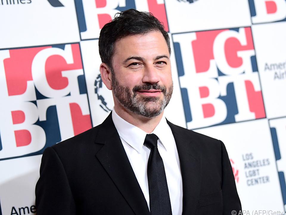 Late-Night-Talker Jimmy Kimmel