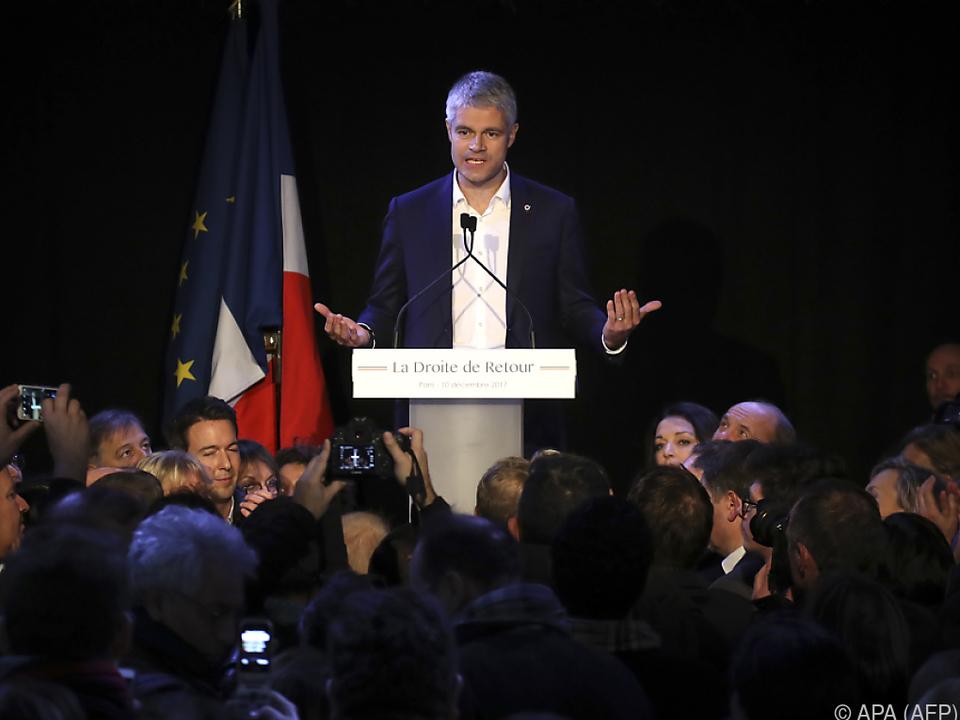 Laurent Wauquiez neuer Chef der Republikanischen Partei