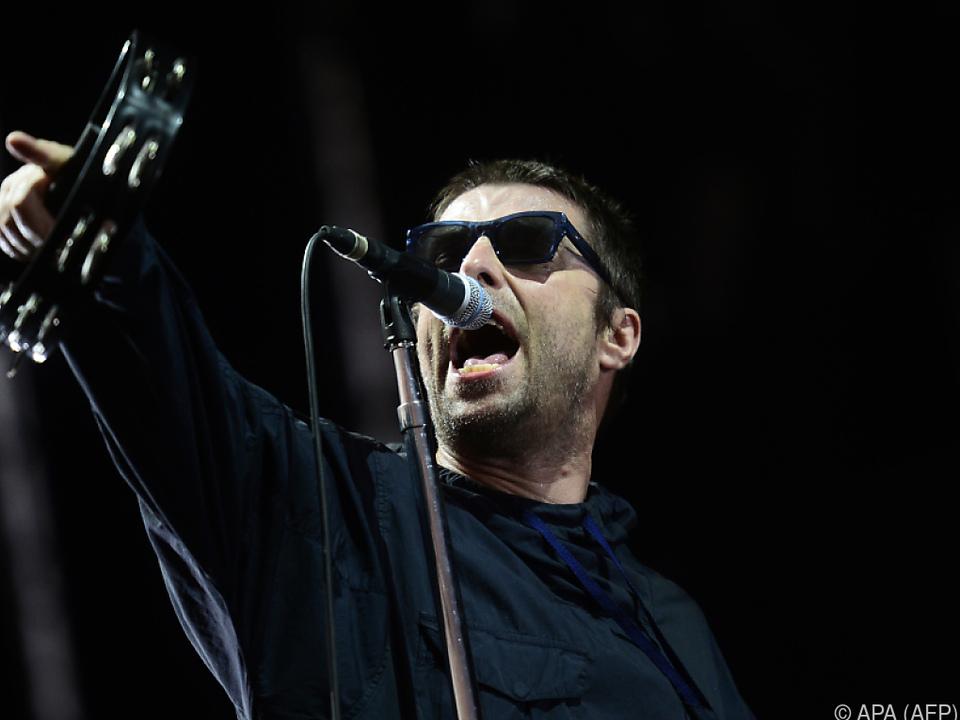 Liam Gallagher sorgte für musikalische Unterhaltung