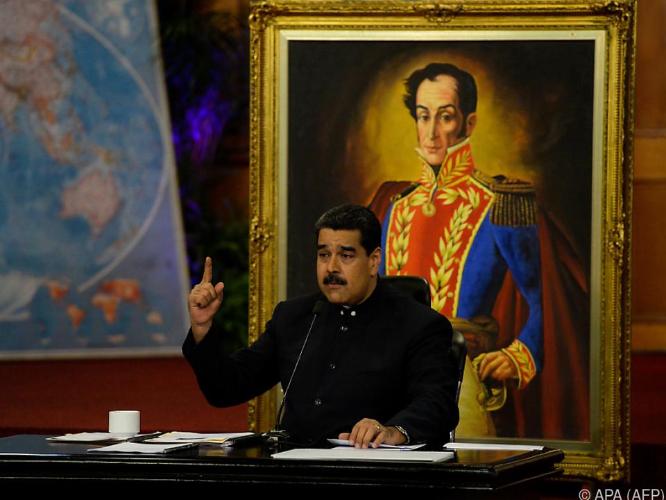 Maduro ließ mit einer neuen Idee aufhorchen