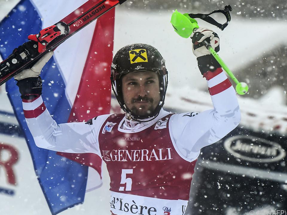Marcel Hirscher ist wieder ein Siegläufer