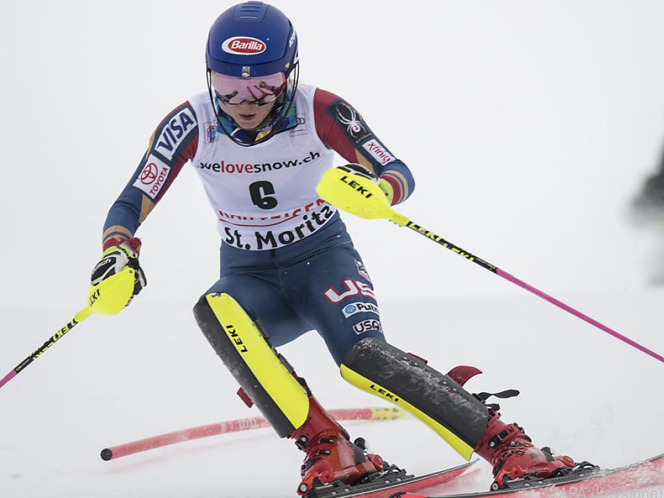 Mikaela Shiffrin neuerdings nicht nur im Slalom eine Macht