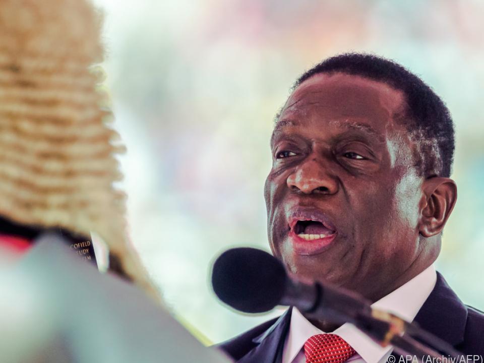 Mnangagwa tauschte zwei Minister aus