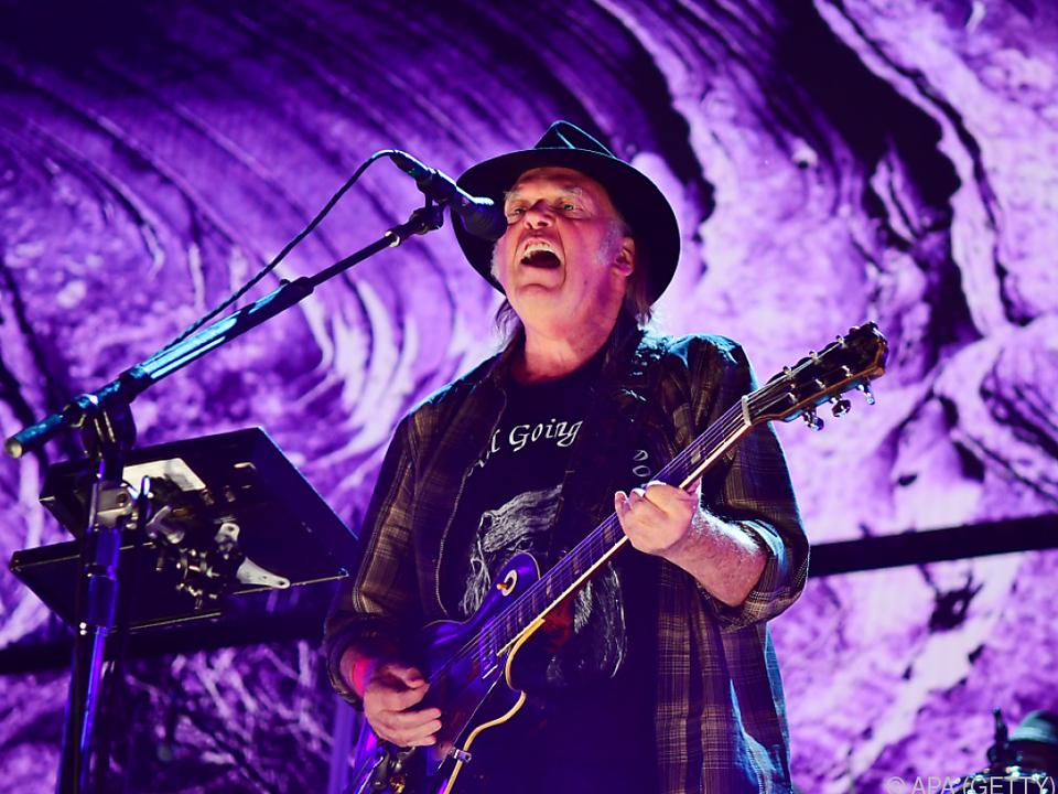 Neil Young überrascht mit Archiv-Projekt