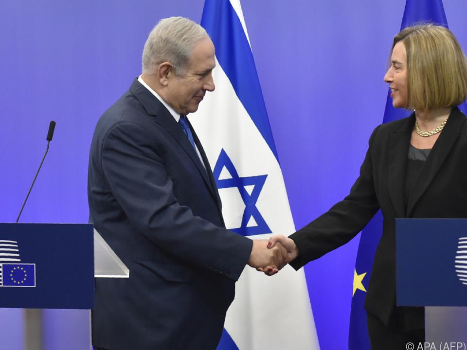 Netanyahu lässt sich von Europa nichts sagen