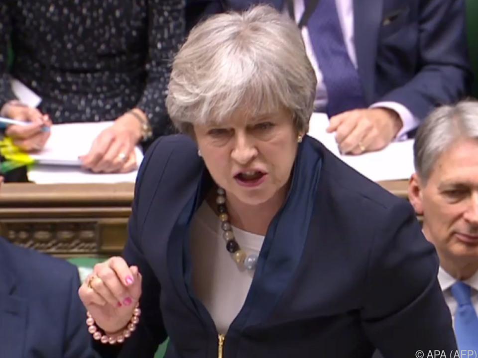 Niederlage für Premierministerin May im Parlament