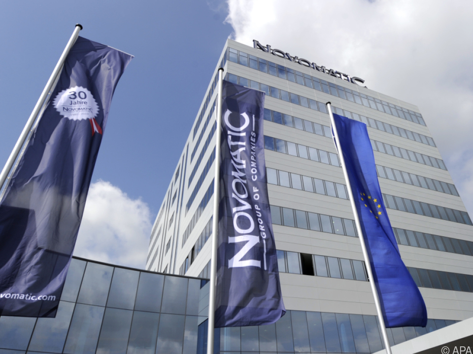 Novomatic-Zentrale in Gumpoldskirchen