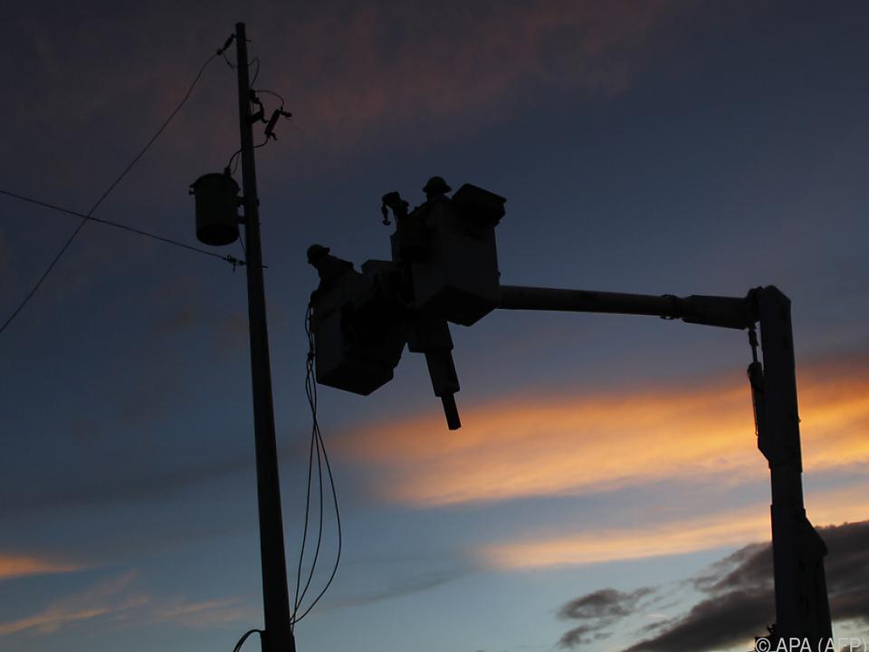 Nur 55 Prozent der Haushalte haben wieder Strom