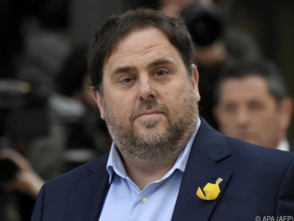 Kataloniens stellvertretender Regierungschef bleibt in Untersuchungshaft