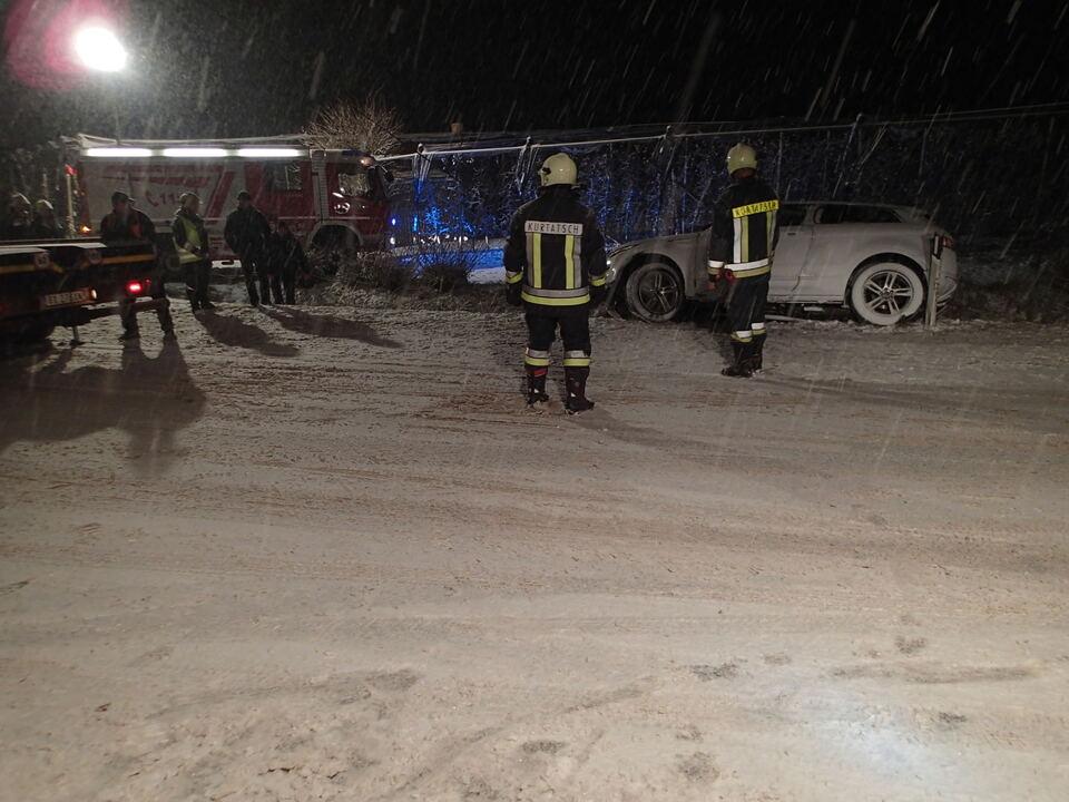 Freiwillige Feuerwehr Kurtatsch Unfall