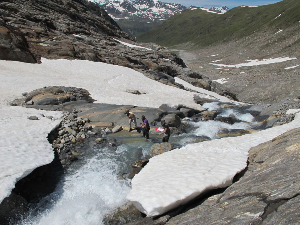 Gletscher Forscher