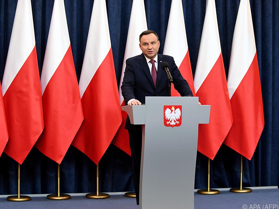 Polens Präsident Duda unterschrieb weitere umstrittene Justizreformen