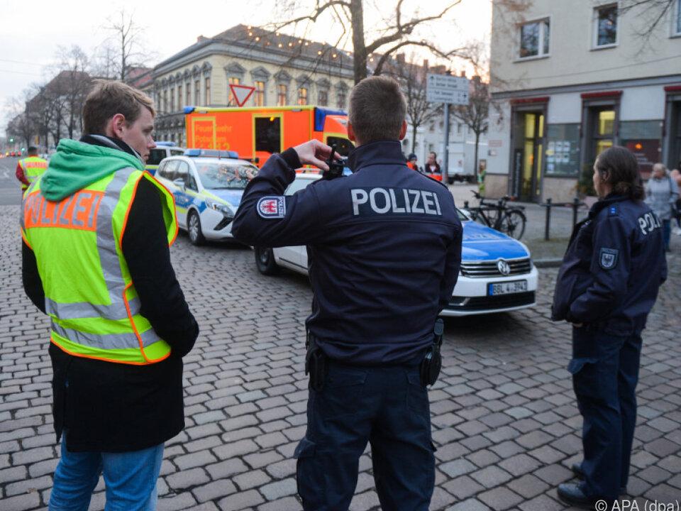 Polizei bestätigte Sprengstoffverdacht