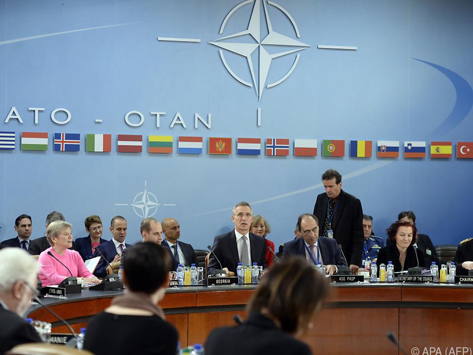Probleme innerhalb der NATO