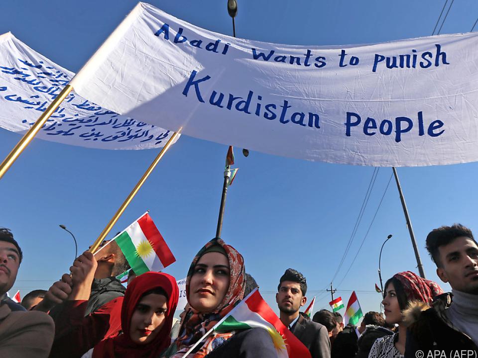 Protest richtet sich gegen eigene und irakische Regierung