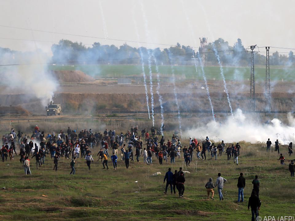 Viele Verletzte bei neuen Palästinenser-Protesten
