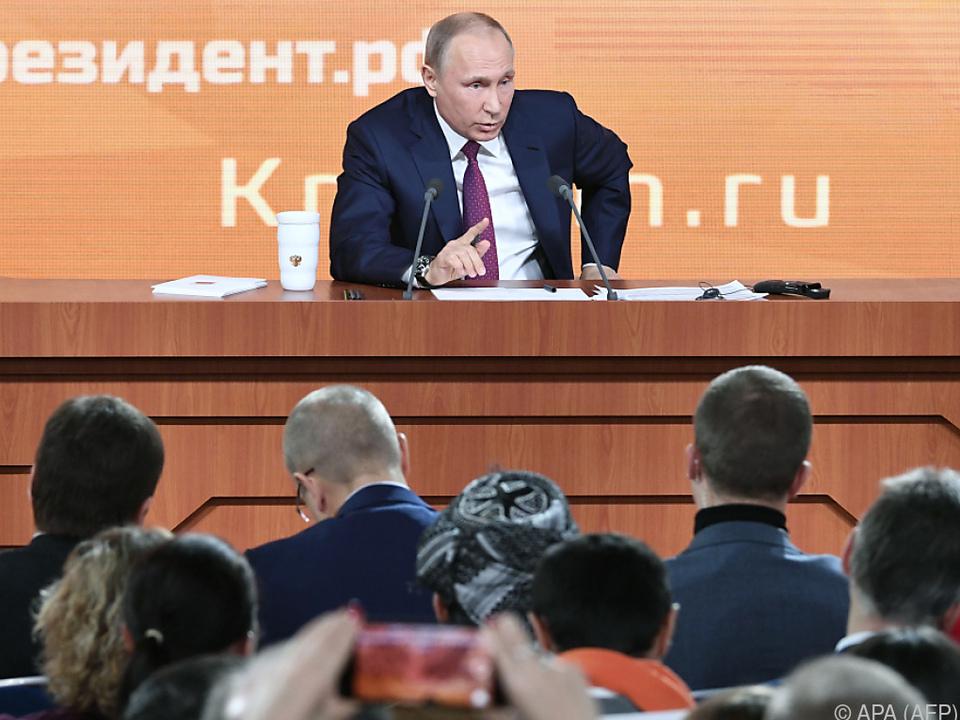 Putin strebt eine vierte Amtszeit an