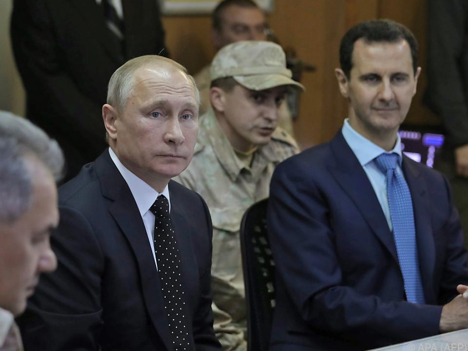 Putin traf Assad in Syrien