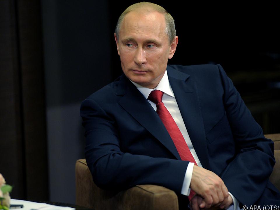 Putin tritt zur Wiederwahl an