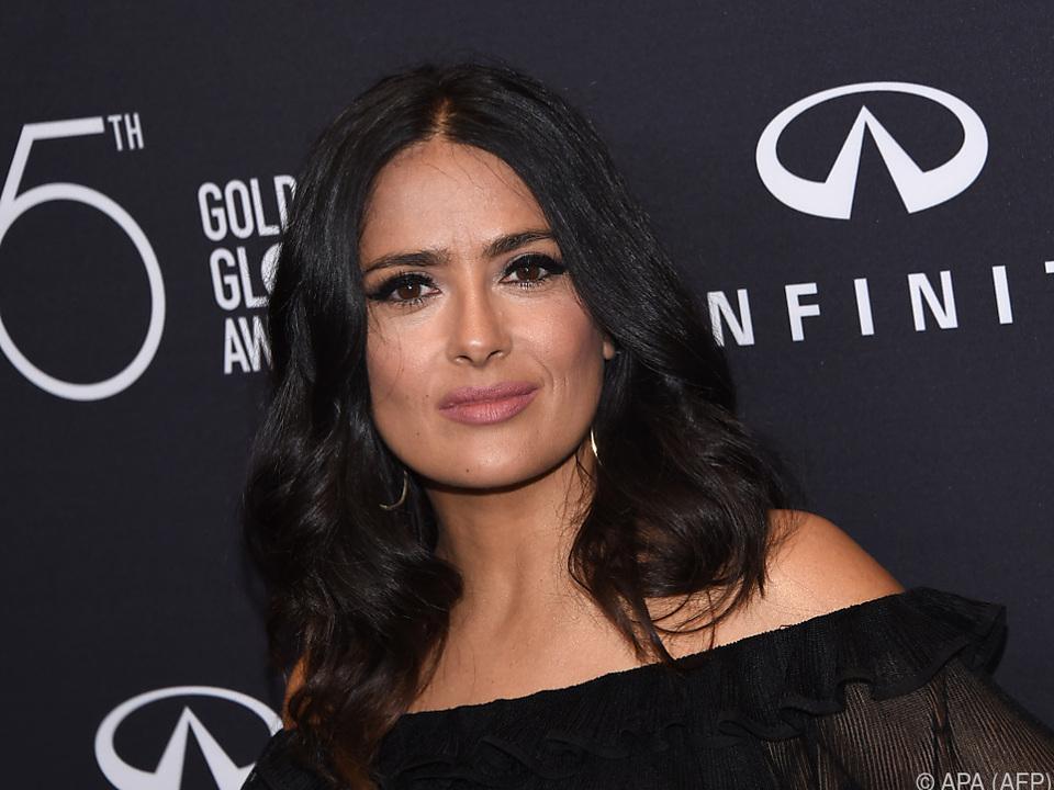 Salma Hayek erhebt Vorwürfe gegen Harvey Weinstein
