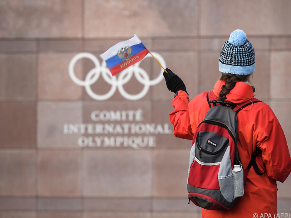 Saubere russische Sportler können unter IOC-Flagge antreten