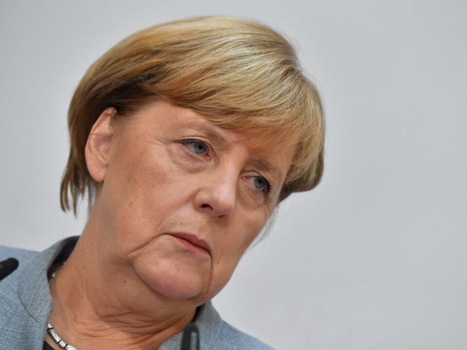 Schwierige Zeiten für Angela Merkel