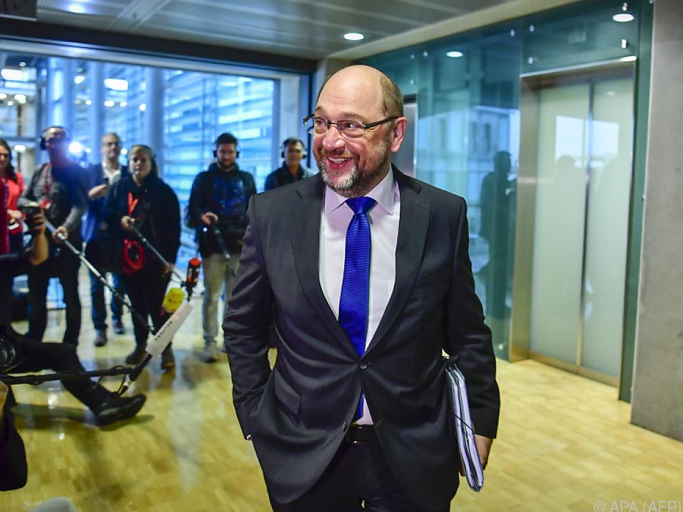 SPD-Chef Schulz einigte sich mit Unionsspitze