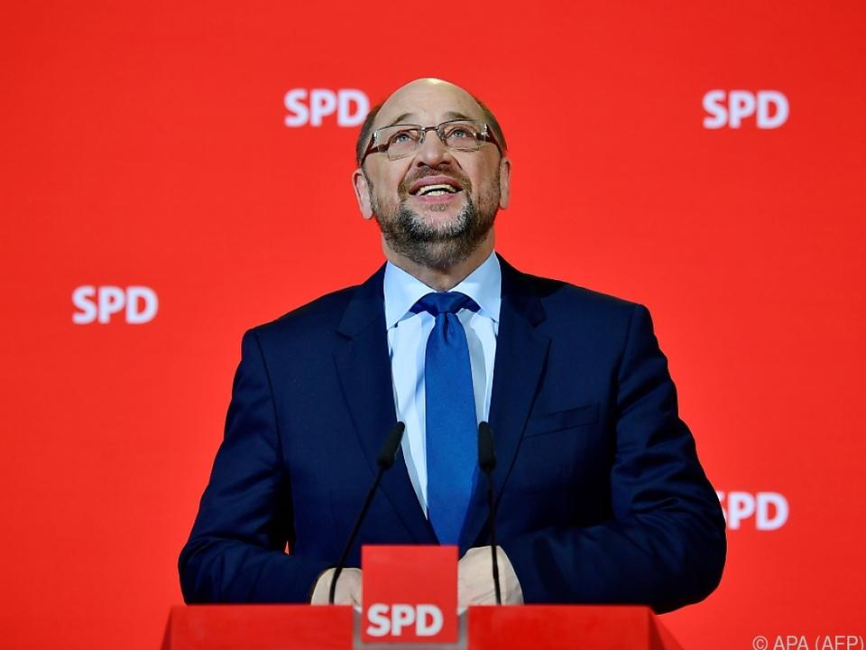 SPD-Chef Schulz will \