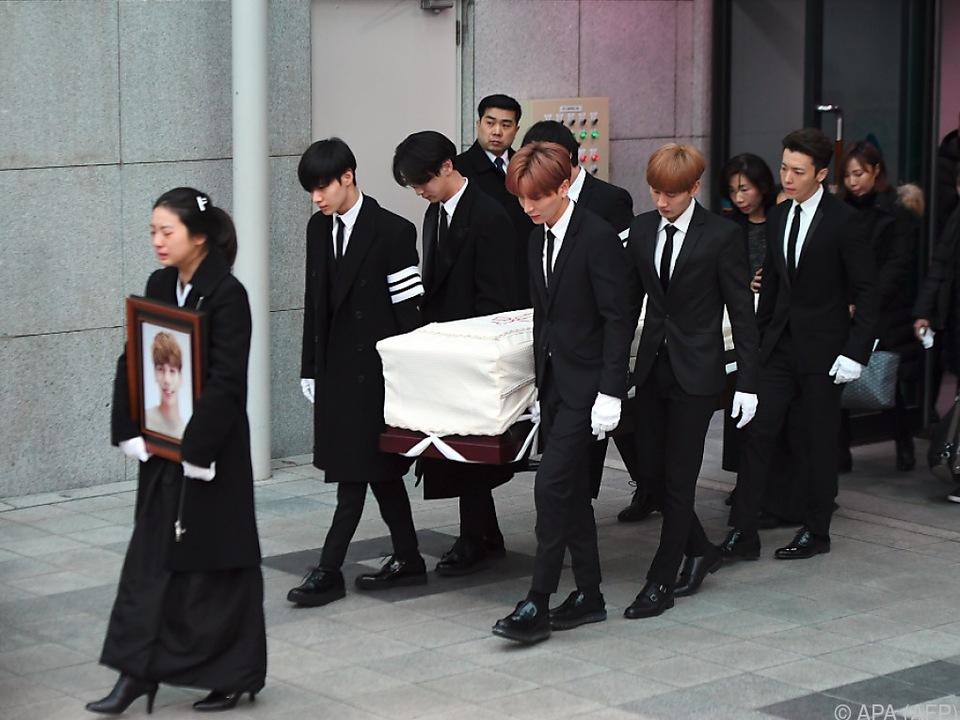 Südkorea trauert um Kim Jong Hyun