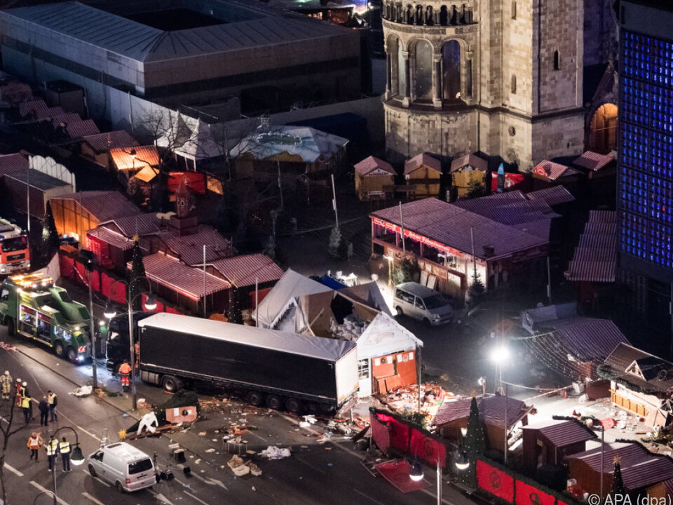 Terroranschlag in Berlin vor einem Jahr