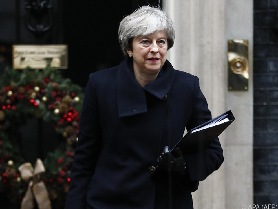 Theresa May hat mit einer Rebellion in den eigenen Reihen zu kämpfen