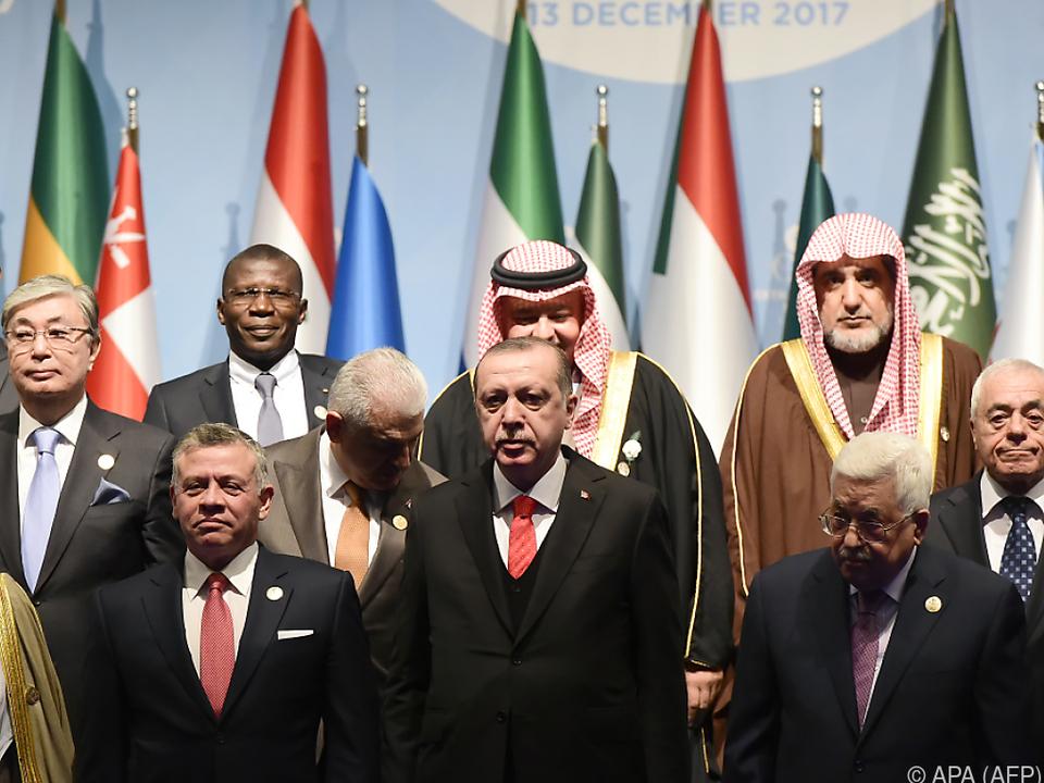 Türkischer Präsident Erdogan lud zum Sondergipfel ein