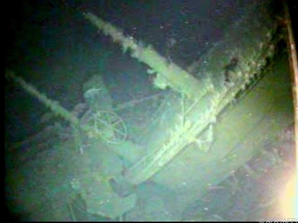 U-Boot vor Küste Papua-Neuguineas gefunden