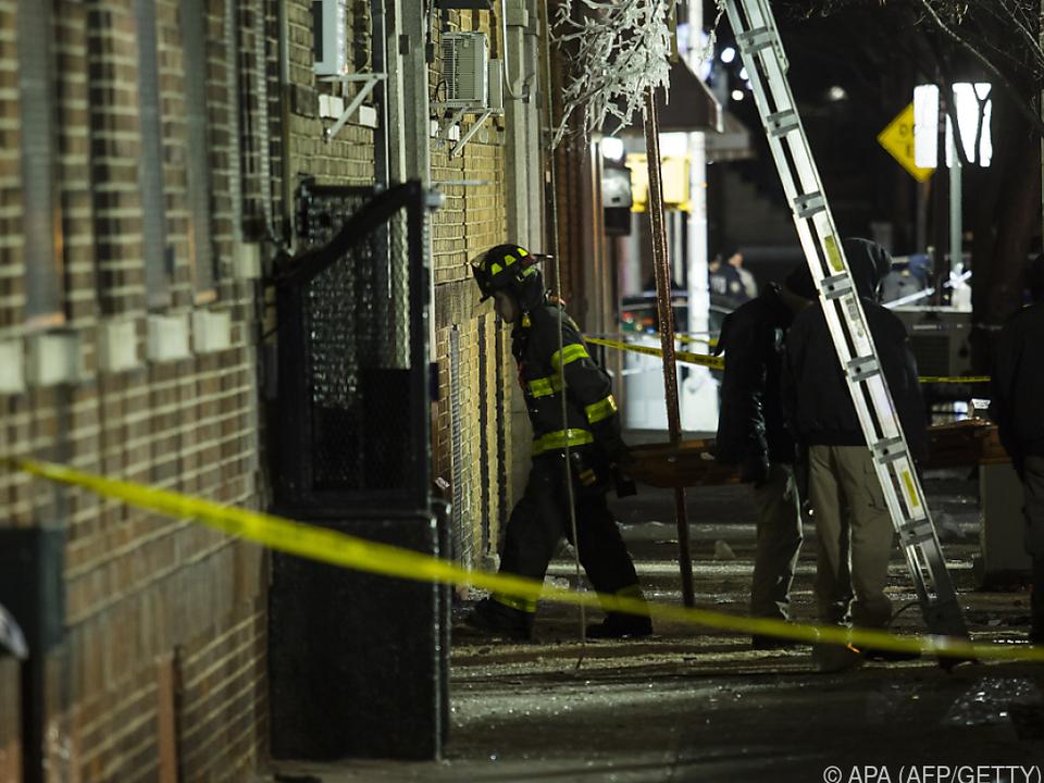 Über 170 Einsatzkräfte kämpften gegen den Brand