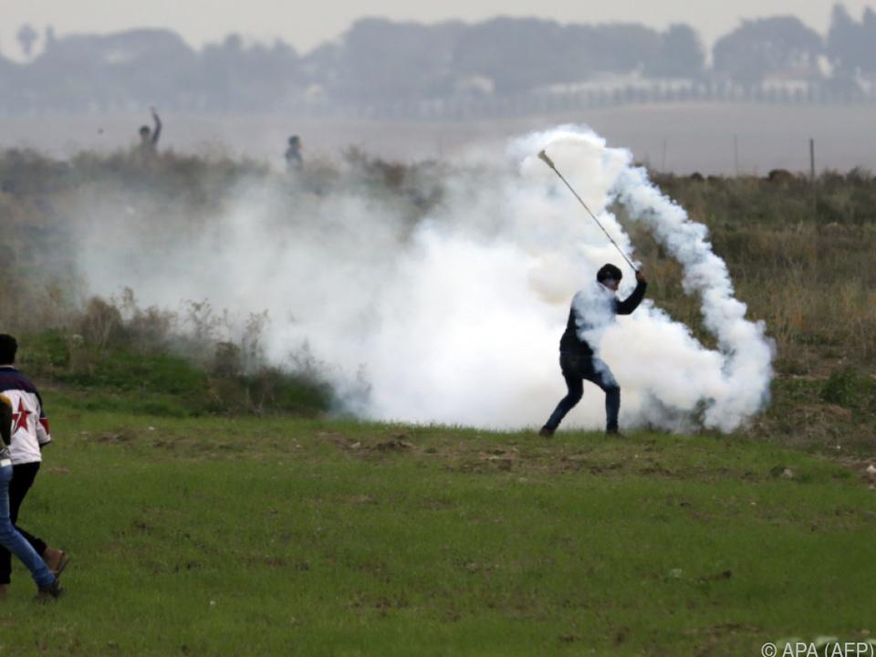 Unruhen im Westjordanland und im Gazastreifen