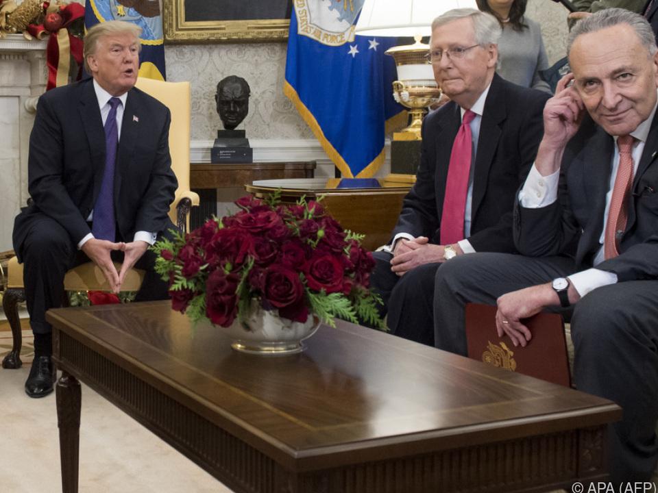 US-Präsident Trump traf Abgeordnete beider Kammern